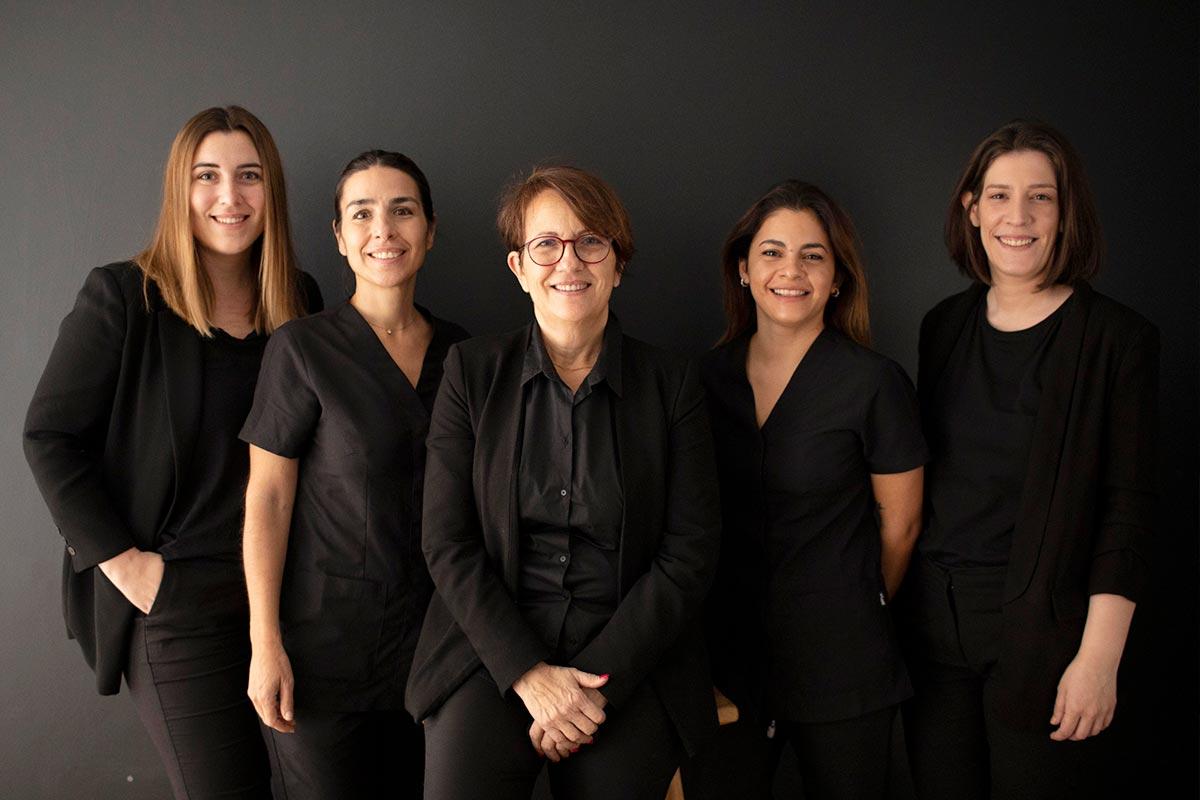 Equipo de dentistas en Mataró